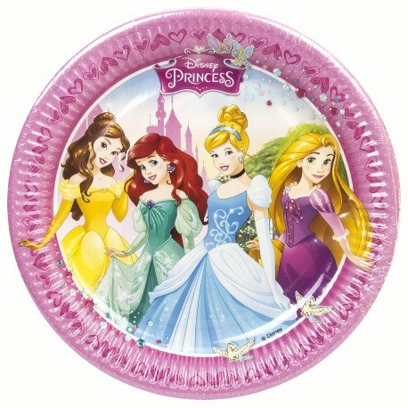 Assiettes Princesse Disney