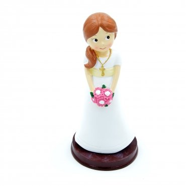 Figurine Gateau Communion Fille